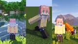 【Minecraft】各務原なでしこ(サンプル)