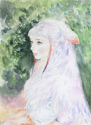 トキ嬢の肖像