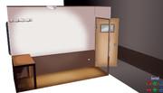 【MMD】1畳半の部屋【モデル配布】