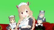 【MMD艦これ】ネコミミメイドな峯雲さん【モデル配布】