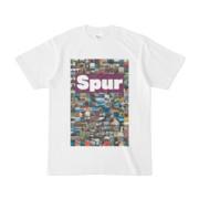 シンプルデザインTシャツ Spur/176_A(PURPLE)