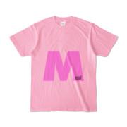 Tシャツ ピーチ 文字研究所 M