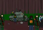 密猟者の戦車