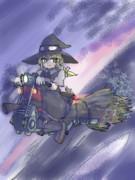 エンジン全開!魔法ライダー魔理沙参上!