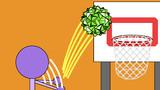 大六角六十面体のバスケットボール
