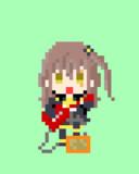 ギターを弾くUMP45