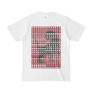 シンプルデザインTシャツ MONSTER-REX41(MAROON)