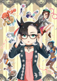 ポケモン剣盾女の子+メガネ