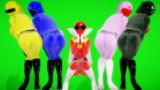 【MMDモデル】5レンジャー その2