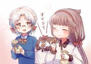 御蔵ちゃんと平戸ちゃん