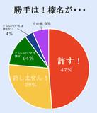 榛名の円グラフ