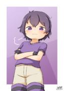 紫かばんちゃん