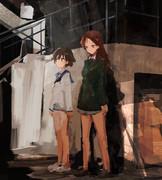 宮藤とミーナ