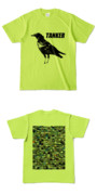 Tシャツ ライトグリーン CROW★TANKER