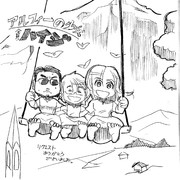 【THE ALFEE】アルフィー少女全員ハイジ桜井も坂崎も高見沢もぜ~んぶハイジだよ!