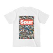 シンプルデザインTシャツ Spur/176_A(TOMATO)