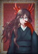 危険な角っ娘カエンタケ子さん