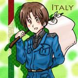 イタリア×白旗さん。