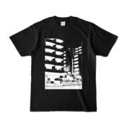 Tシャツ ブラック Ikebukuro_Building