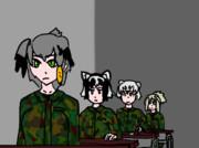 陸軍に入隊するフレンズ
