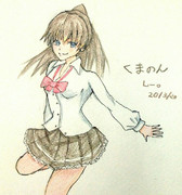 熊野さんとお絵描き練習2