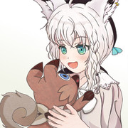 ちびっ狐とイワンコ