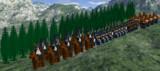 LDDで武者行列作ってみた。