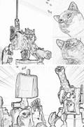 ネコ達の挽歌 第9話 「進攻」