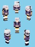 【Minecraft】v_flower:Talk表紙衣装【Alex】