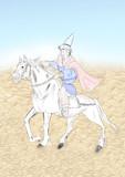 砂漠と馬と魔法使い