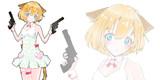 【陸軍女子】猫耳武器娘