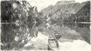 池とボート*石原一志