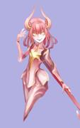 rakugaki demonic girl
