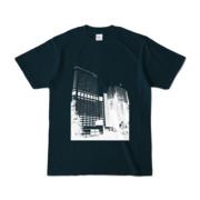 Tシャツ ネイビー Shinjuku_Building