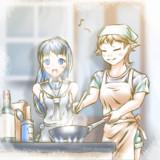 【艦これ】お料理しましょう【比叡/五月雨】