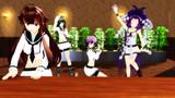 【MMD艦これ】「初春改二と球磨型三姉妹がメイン争奪ジャンケン三回勝負!」その結果:ELECT.