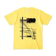 Tシャツ イエロー Aka-Ao/Shingo