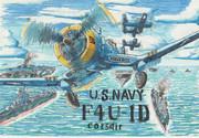 U.S.NAVY F4U‐1D corsair  コルセア