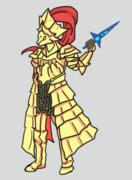 藍玉の短剣