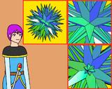 小六線星型六十面体と少年魔法使い