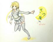 皐月さんとお絵描き練習2