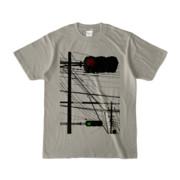 Tシャツ シルバーグレー Aka-Ao/Shingo