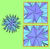 大五線星型六十面体