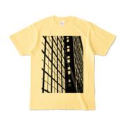 Tシャツ ライトイエロー S-Building