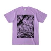 Tシャツ ライトパープル FOREST_MORI