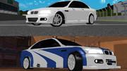 【MMDモデル配布あり】BMW M3 & M3 GTR
