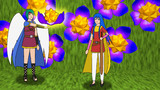 Rhombicosacronの花、天使勇者、少女