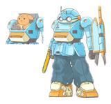 映像研ロボット的ガテン系アーマードトルーパー