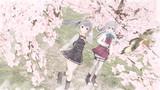 艦娘と桜並木(RAY-GO静画祭Vol.6)
