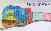 EMD SD40-2形ディーゼル機関車